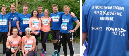 Power House, together with customers and friends, mastered Gothenburg's half marathon!