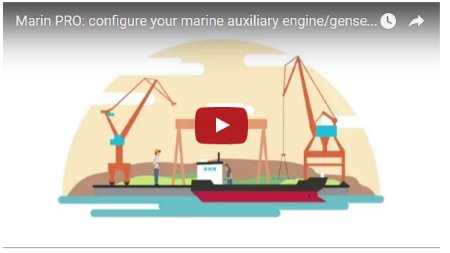 Watch our new Marin PRO video and see how fast it is to get a complete technical documentation and quote for your next marine engine!