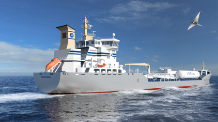 Power House delivers another 3 gensets for Terntank's next-generation tanker ships