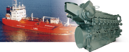 Now in our product range: LNG marine auxiliary solutions with an output range of 300 - 1500 kW!