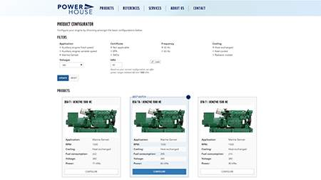 Power House is proudly presenting Marin PRO, our new online product configurator, database and quote generator!