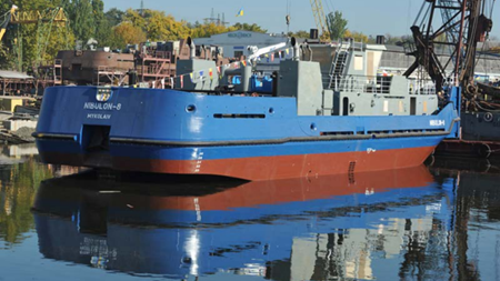NIBULON Shipbuilding and Repair Yard Launched the POSS-115 Project Tug