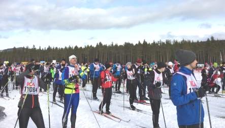 The lazy cookie times are long over: we dared to take on the 30 km cross-country skiing challenge!